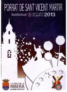 PORRAT DE SANT VICENT DE GUADASSUAR - ENERO 2012 - LUNES 21, MARTES 22 Y MIERCOLES 23 - 2013